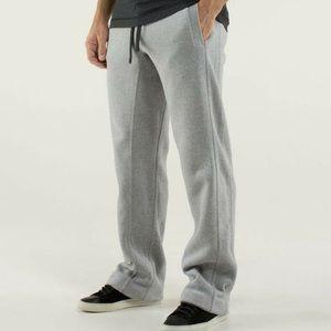 Lululemon Men's Sweatpants Grey Cotton Pockets